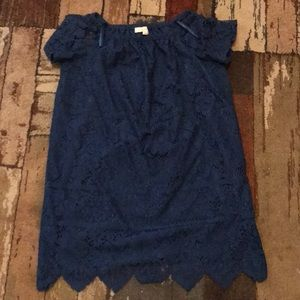 LOFT OFF THE SHOULDER DRESS NWOT
